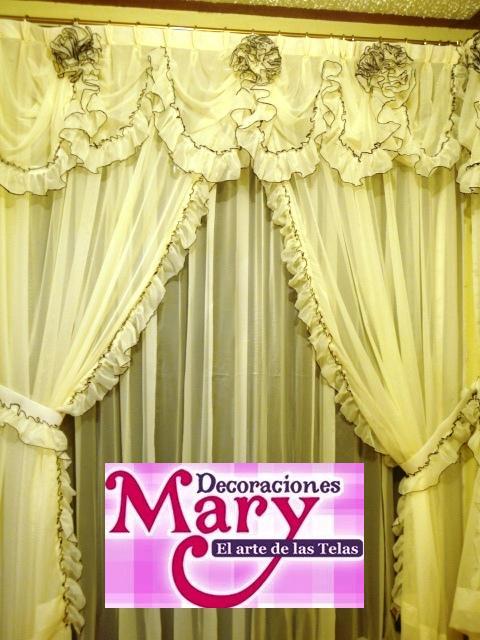 El arte en las telas nuevos dise os con rosas de tela - Disenos de cortinas de tela ...