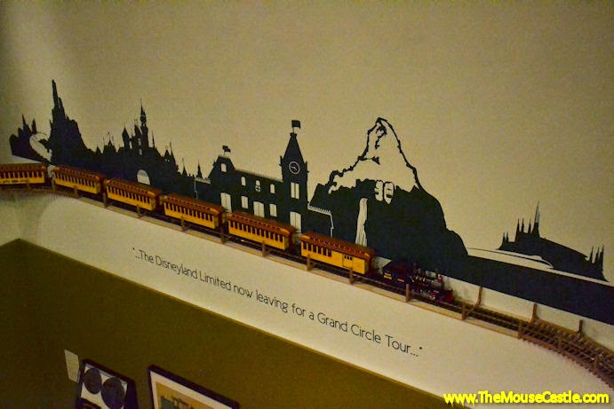 The Disneyland Limited now leaving for a Grand Circle Tour