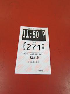 Keele station transfer