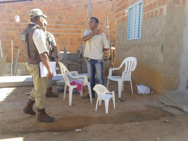 Criança morre após ser atingida por bala perdida (Foto: Jonivaldo Barbosa/Blog do Sigi Vilares)