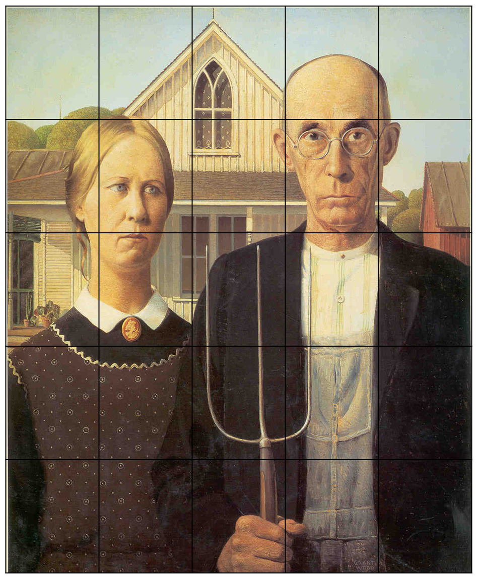 analysis of american gothic painted by grant wood essay Tags: american gothic, american painters, grant wood |  although two-thirds of the works exhibited were by american  it was discovered that she painted.