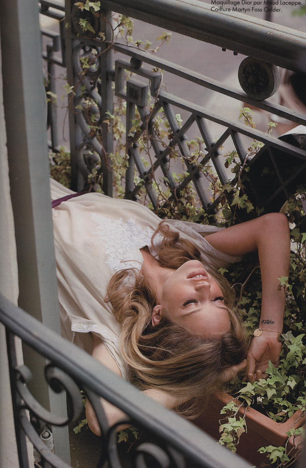 via fashioned by love | Julie Ordon in Elle France January 2007