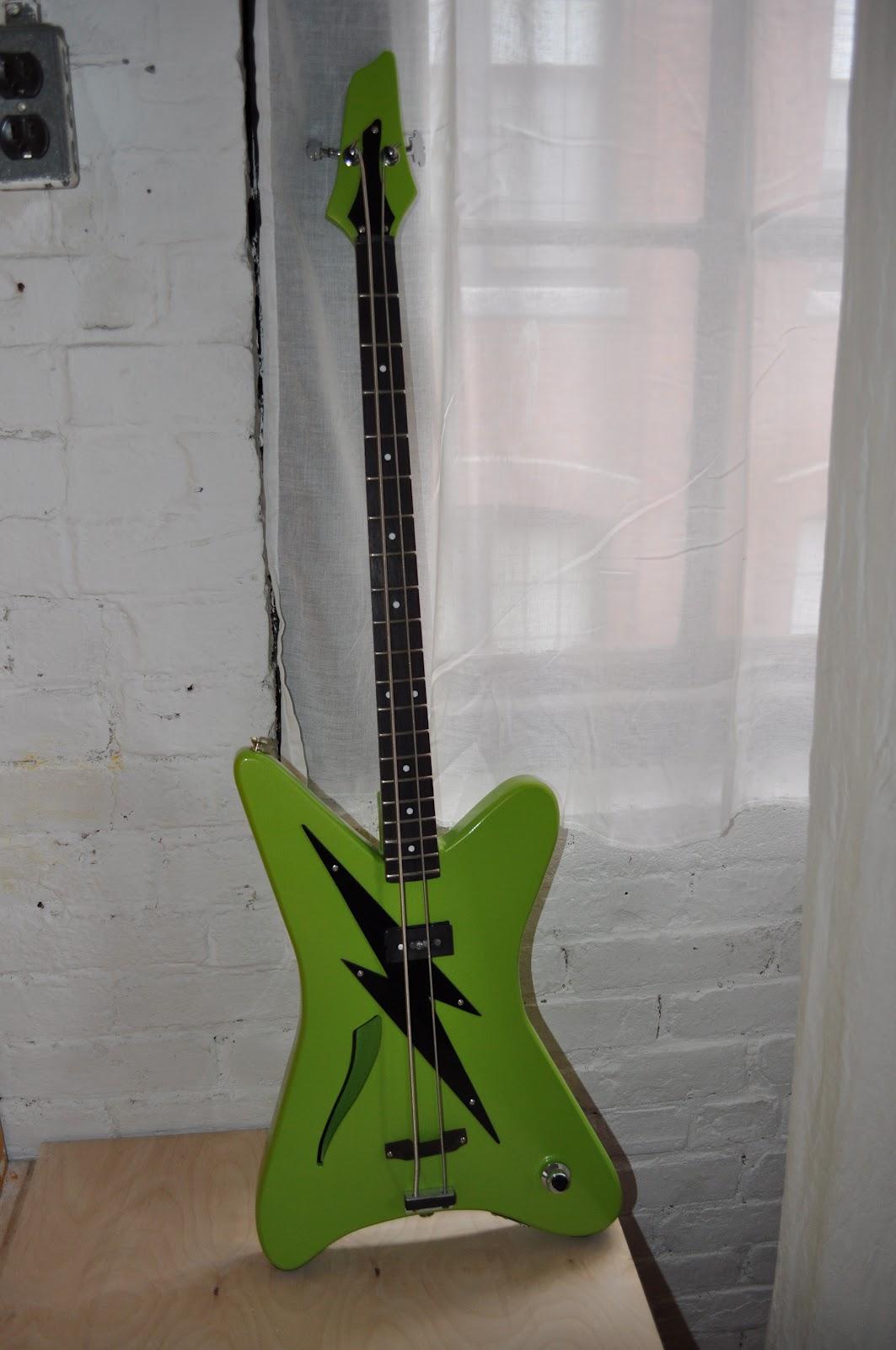 The Guitar Garage: 2 String Shortscale Microbass: Custom built kid\'s ...