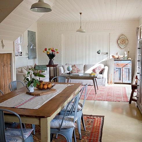 El granero de ladrillos rojos vintage style decorar tu for Decoraciones de casas sencillas