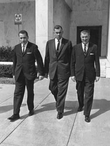 SA's Clint Hill, Roy Kellerman, and Bill Greer