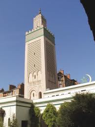 PARIS GRAND MOSQUE.
