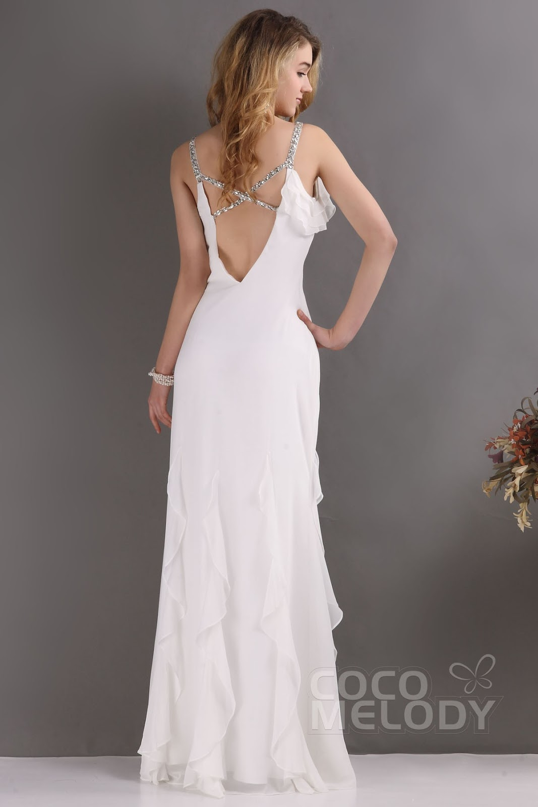 http://www.cocomelody.com/sheath-column-ivory-floor-length-spaghetti-strap-chiffon-wedding-dress-cwvt09001.html