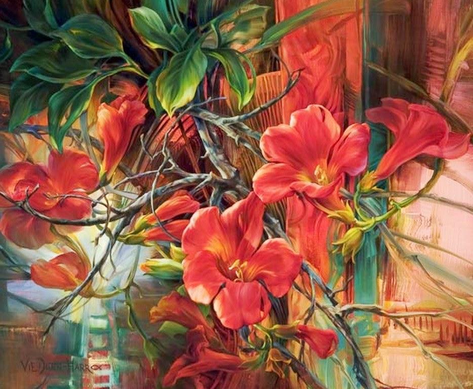 cuadros-de-flores-pintados-al-oleo