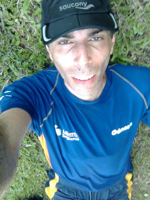 Agotado al correr