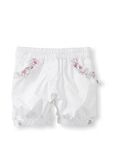 MyHabit: Save Up to 60% off Kanz for Baby Girls: Woven Shorts - Lightweight with contrast trim, elasticized waist, 2 front and back pockets, decorative button on cuffs