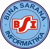 Logo Bina sarana Informatika [BSI]