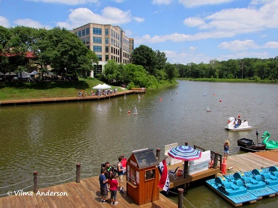 Waterfront in Columbia Maryland