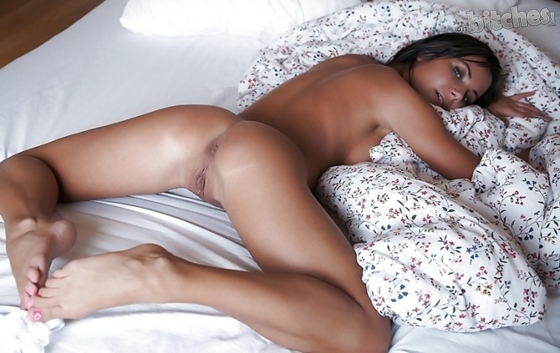 Nude Girls Laying On Stomach Legs Spread
