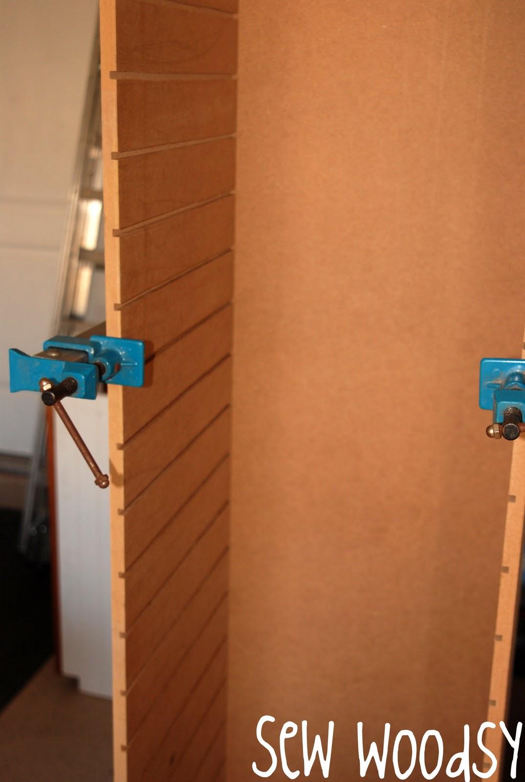 Scrapbook paper rack - Paper Rack Mini Tutorial