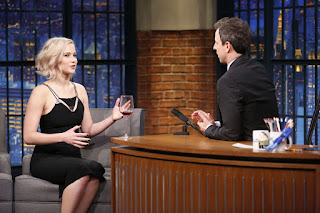 Jennifer Lawrence – 'Late Night With Seth Meyers'
