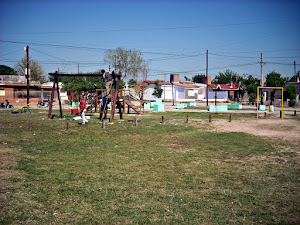 Plaza en barrio Platense Oeste