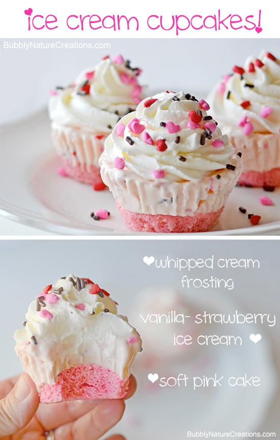 DJ in the Kitchen: Ice Cream Cupcakes
