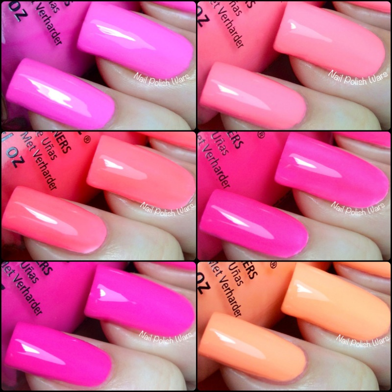 Nail Polish Wars: China Glaze Sunsational Collection Swatch & Review