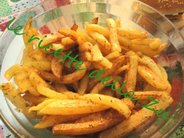 Le ricette della zu patate fritte fatte in casa for Quando raccogliere le patate