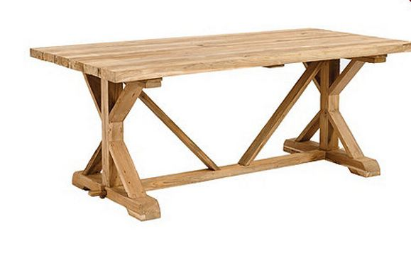 Wood Outdoor Dining Table Plans Woodideas