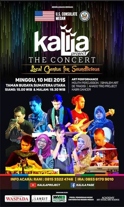 "The Concert ""Local Genius for Soundlicious,"" 10 Mei 2015"