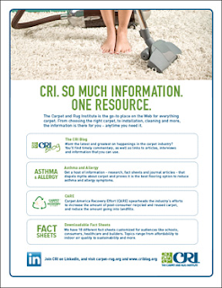 CRI. So much information about carpet. One resource.