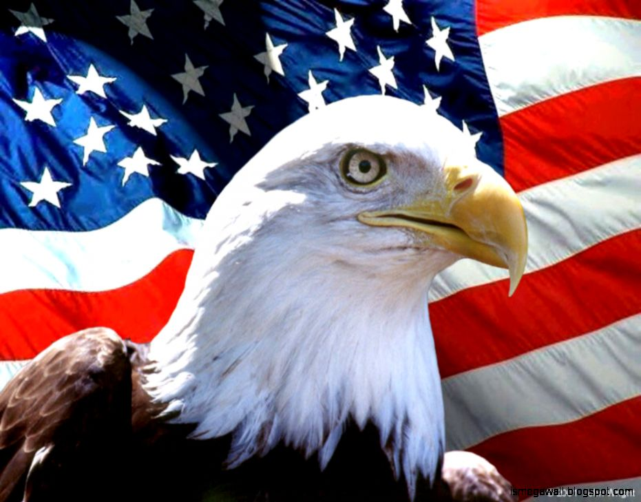 United States Flag Eagle Wallpaper