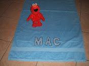 Boys Personalised Towel