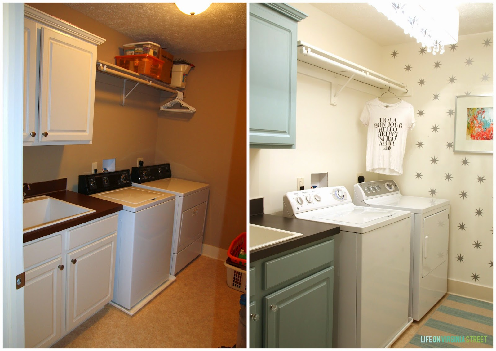 A Year Of Change Laundry Room Reveal Life On Virginia