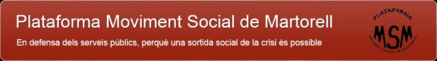 Plataforma Moviment Social de Martorell