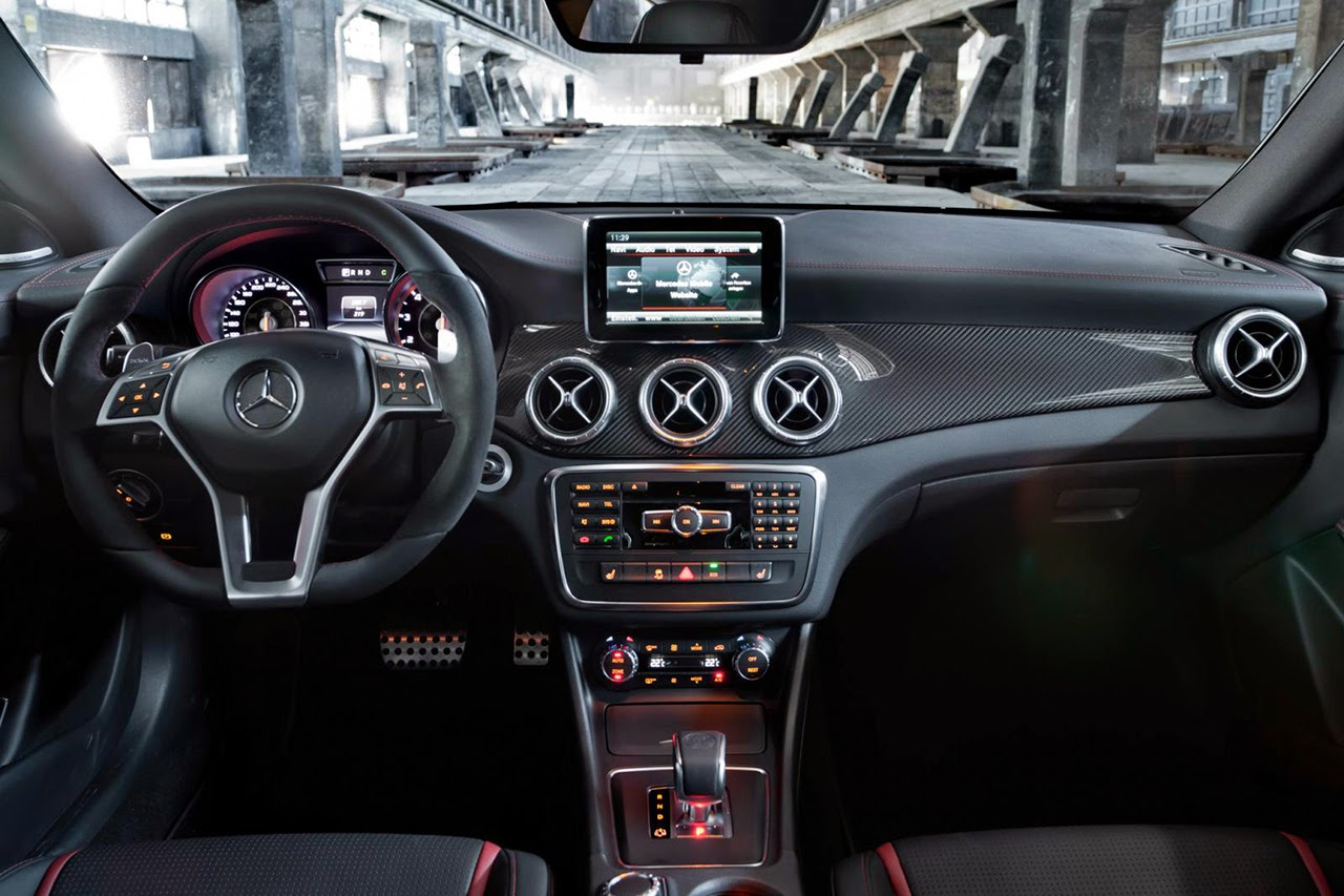 Mercedes-Benz CLA 45 AMG interior view