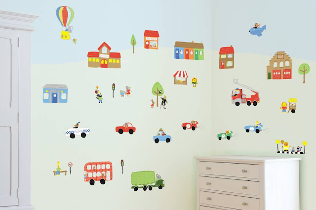 papier peint mural pour les chambres d 39 enfants d cor de maison d coration chambre. Black Bedroom Furniture Sets. Home Design Ideas
