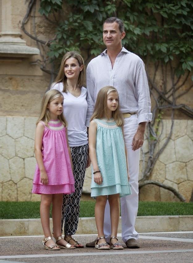 El diario de la Reina Letizia  Primeras vacaciones en Mallorca