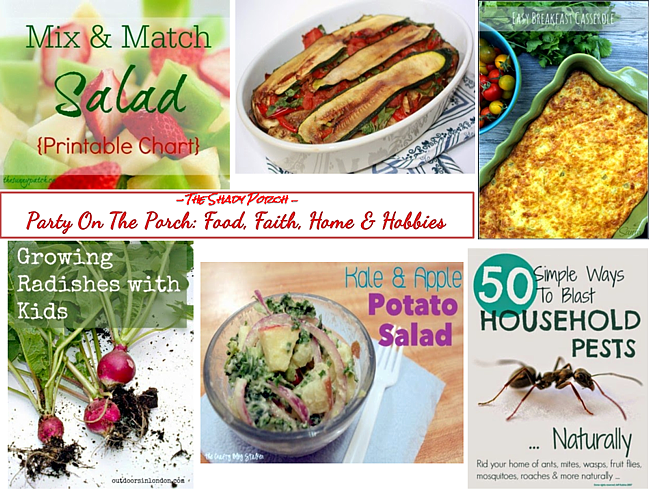 Party On The Porch: Food, Faith, Home & Hobbies