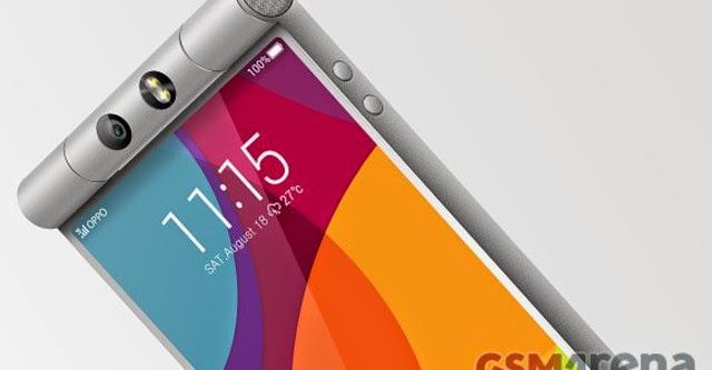 Oppo N3  thiết kế độc đáo