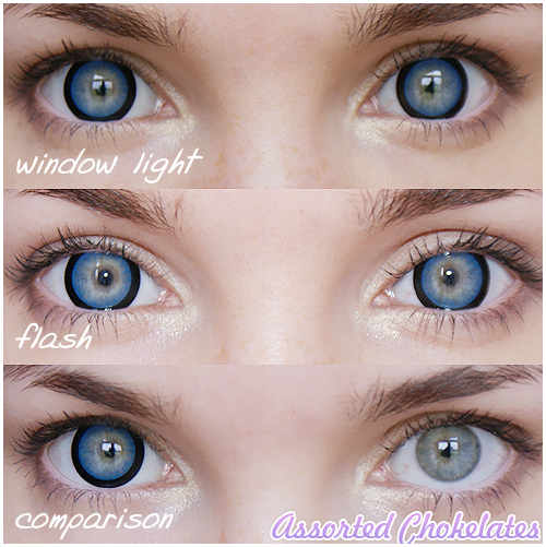 The gallery for --> Light Blue Gray Eyes