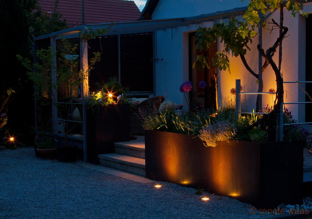 Gartenblog geniesser garten licht im garten - Indirekte gartenbeleuchtung ...