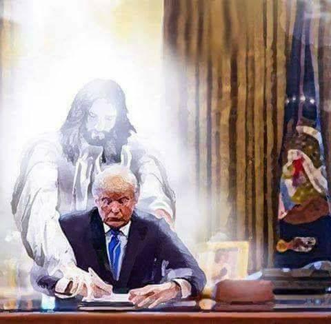 Dios esta utilizando a Donald Trump como utilizó a Constantino.