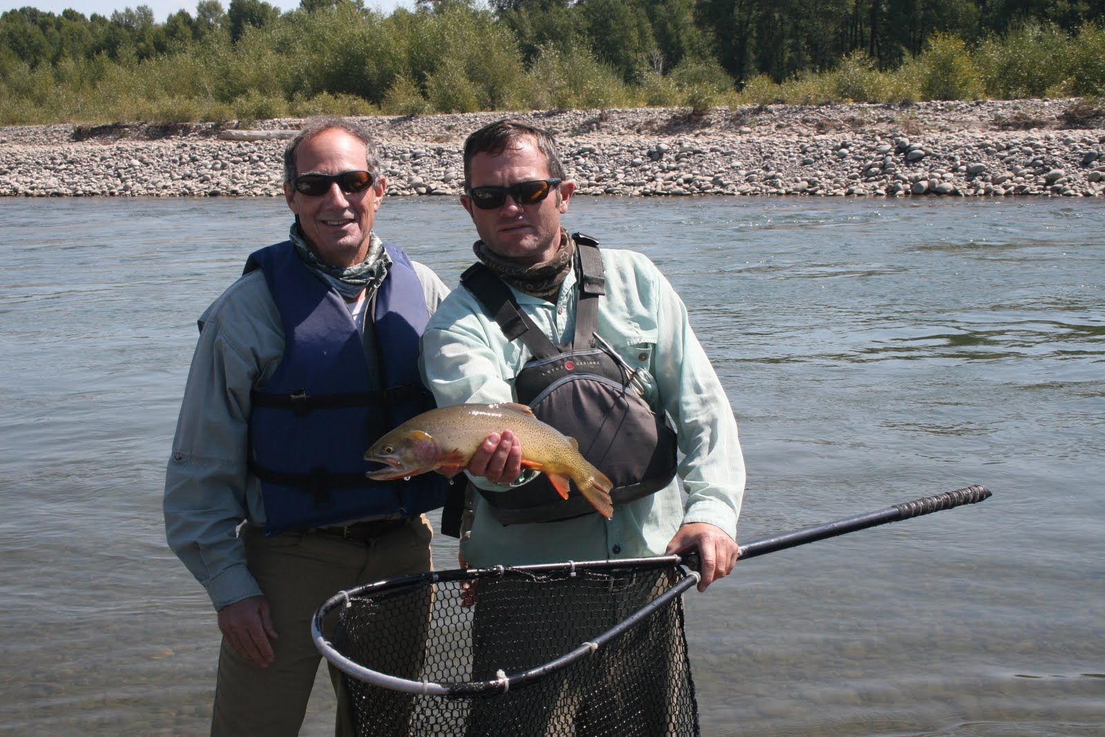 Boots snake river fly fishing report for august 21st for Snake river fishing report