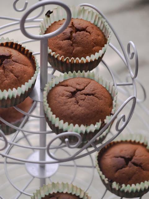 Pear & cardamom muffins / Muffinki z gruszką i kardamonem
