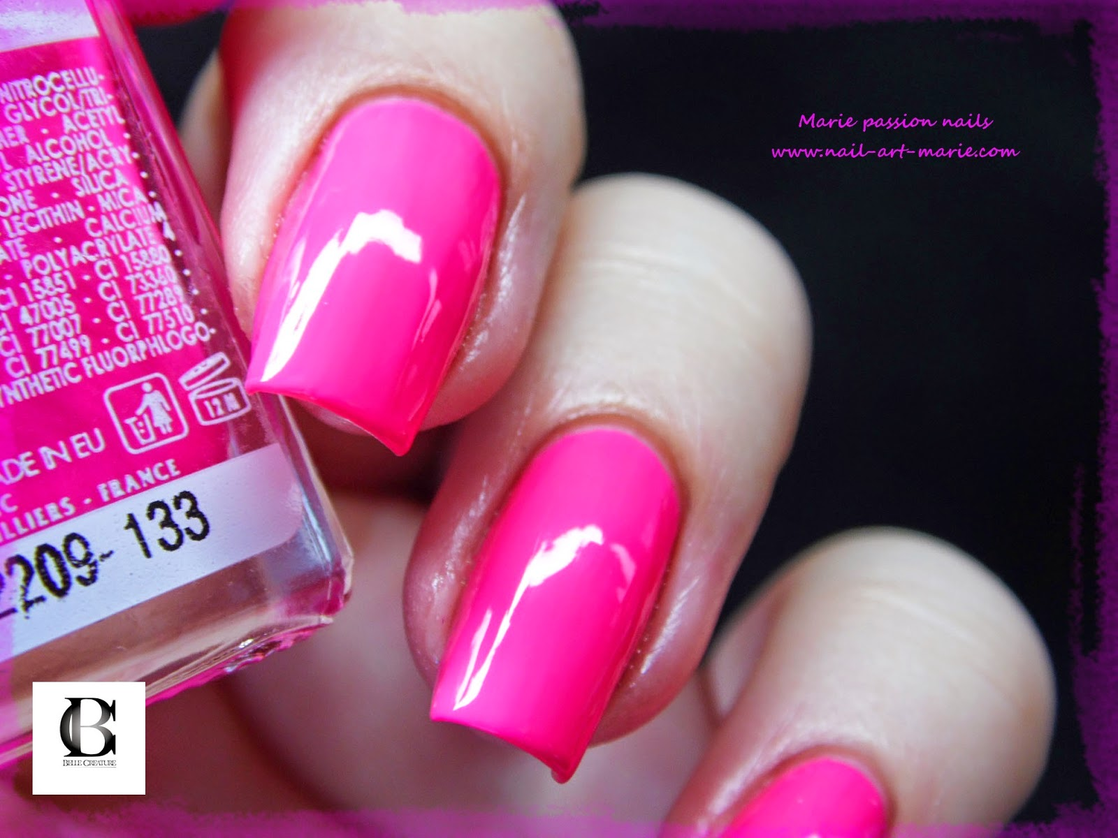 Salomé Luxe rose fluo5