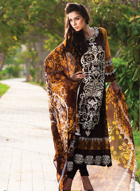 Mahiymaan Eid Fashion Collection 2012