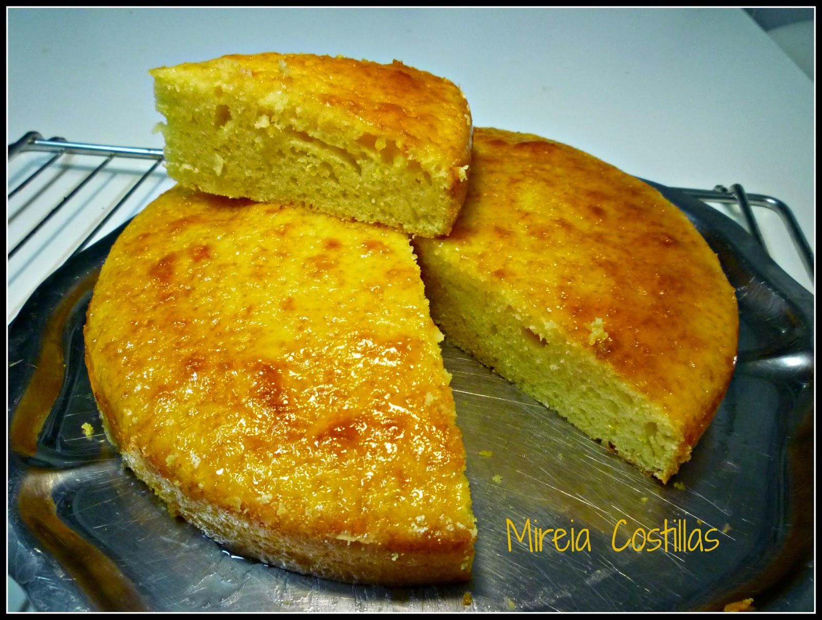 Pasi n y tentaci n lemon drizzle cake o bizcocho h medo - Bizcocho de limon esponjoso ...
