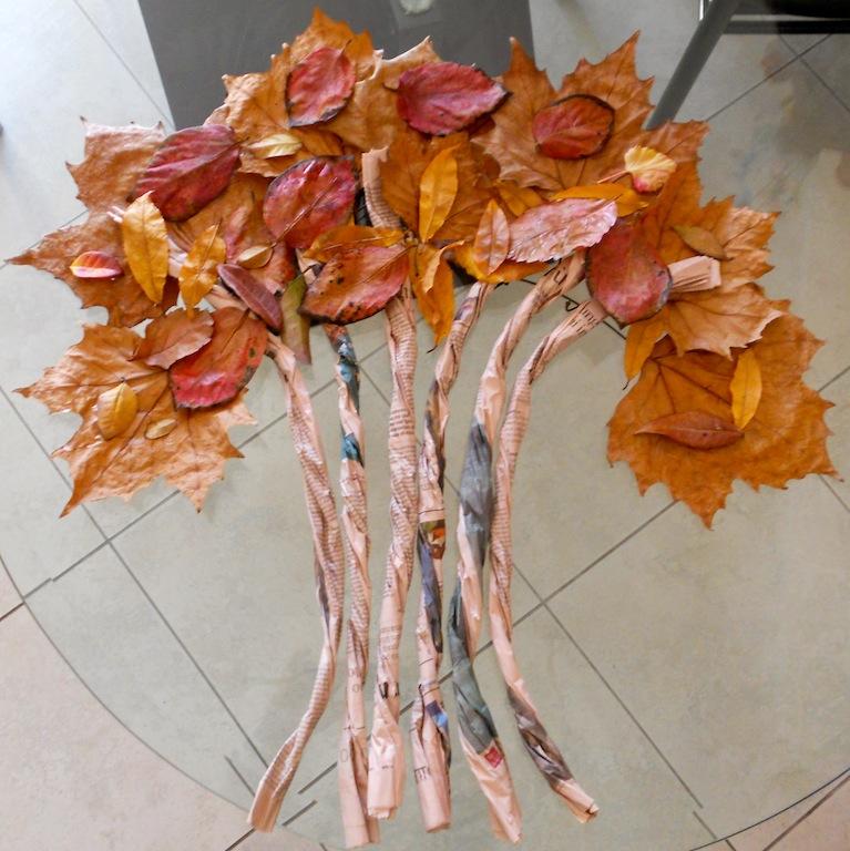 Conosciuto Mamme come me: Albero di carta e foglie WG38