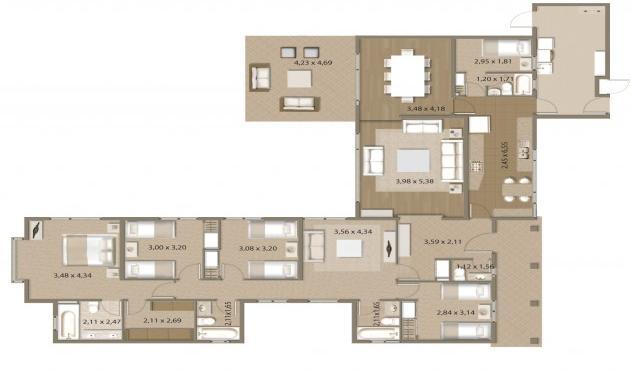 Planos casas de campo modernas planos de casas modernas for Casas campestres modernas planos