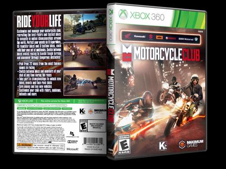 Capa Motorcyble Club Xbox 360