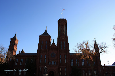 The smithsonian Castle in Washington DC