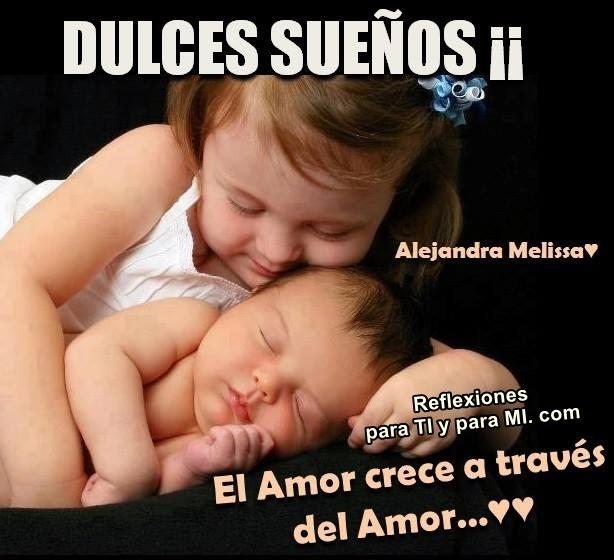 El Amor crece a través del AMOR...  DULCES SUEÑOS !!!