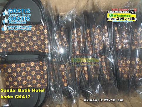 Sandal Batik Hotel murah