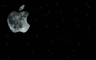 Apple Moon Wallpaper